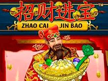 Игровой автомат на деньги с Вебмани или Виза: Zhao Cai Jin Bao